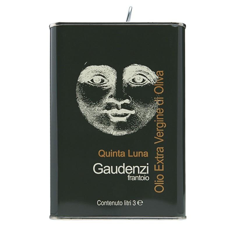 Olio extravergine di oliva Quinta Luna latta - Gaudenzi - 3l