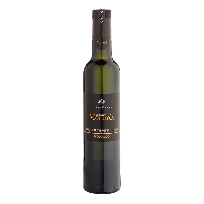 Olio extravergine di oliva cultivar Moraiolo - Fattoria Ramerino - 500ml
