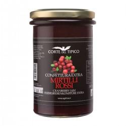 Confettura Extra di Mirtilli Rossi - Agraria Riva del Garda - 340gr