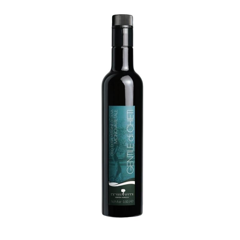 Olio extravergine di oliva monovarietale Gentile di Chieti - La Selvotta - 500ml