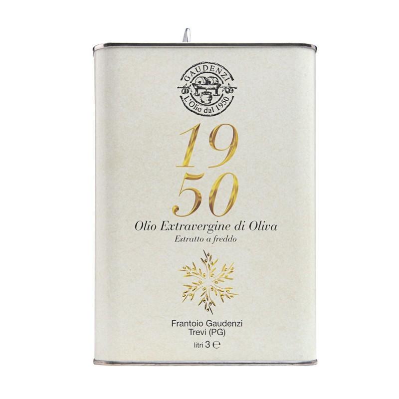 Olio extravergine di oliva 1950 latta - Gaudenzi - 3l