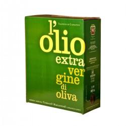 Olio extravergine di oliva Bag in Box - Trappeto di Caprafico - 5l