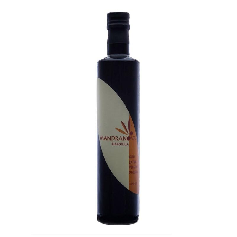 Olio extravergine di oliva Biancolilla - Mandranova - 500ml