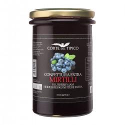 Confettura Extra di Mirtilli - Agraria Riva del Garda - 340gr