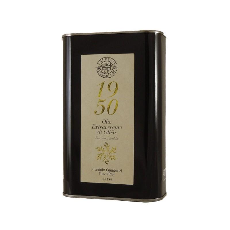 Olio extravergine di oliva 1950 latta - Gaudenzi - 1l