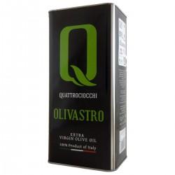 Olio extravergine di oliva Olivastro latta - Quattrociocchi - 5l