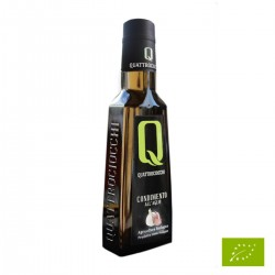 Condimento a base di Olio extravergine di oliva e Aglio Bio - Quattrociocchi...