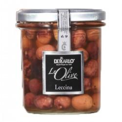 Olive Leccina - De Carlo - 330gr