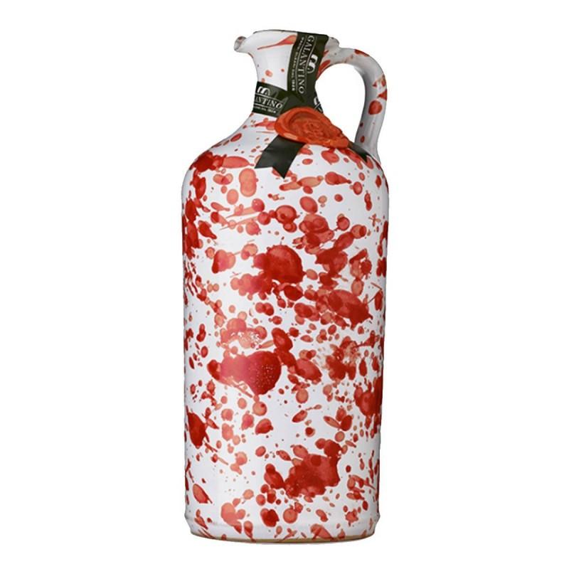 Olio extravergine di oliva Orcio ceramica Rosso - Galantino - 500ml