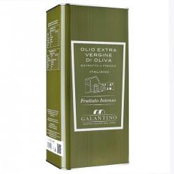 Olio extravergine di oliva Fruttato Intenso latta - Galantino - 5l