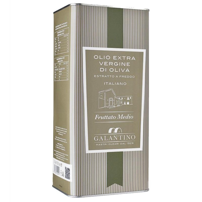 Olio extravergine di oliva Fruttato Medio latta - Galantino - 5l