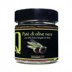 Patè di Olive Nere - Quattrociocchi - 190gr