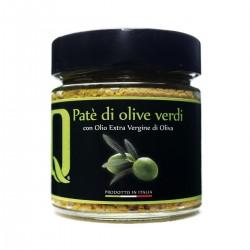 Patè di Olive Verdi - Quattrociocchi - 190gr