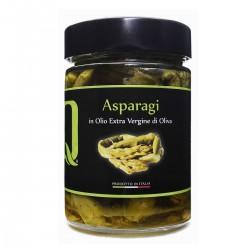 Asparagi in olio extra vergine di oliva - Quattrociocchi - 320gr