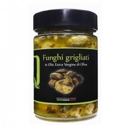 Funghi Grigliati in olio extra vergine di oliva - Quattrociocchi - 320gr