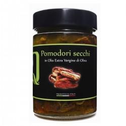 Pomodori secchi in olio extra vergine di oliva - Quattrociocchi - 320gr