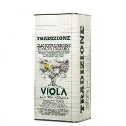 Olio extravergine di oliva Tradizione latta - Viola - 5l