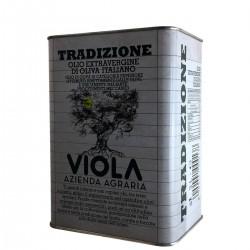 Olio extravergine di oliva Tradizione latta - Viola - 3l