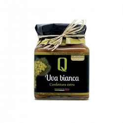 Confettura di Uva Bianca - Quattrociocchi - 350gr