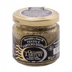 Pesto e Tartufo Estivo - Giuliano Tartufi - 80gr