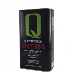 Olio extravergine di oliva Superbo Moraiolo latta - Quattrociocchi - 3l