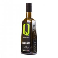 Olio extravergine di oliva Delicato Leccino - Quattrociocchi - 500ml