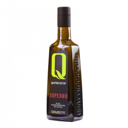 Olio extravergine di oliva Superbo Moraiolo - Quattrociocchi - 500ml