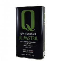 Olio extravergine di oliva Olivastro latta - Quattrociocchi - 3l
