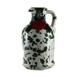 Olio extravergine di oliva Orcio ceramica Verde - Galantino - 100ml