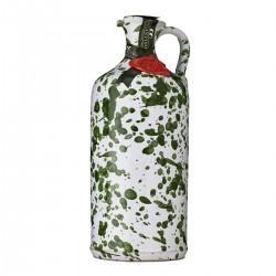 Olio extravergine di oliva Orcio ceramica Verde - Galantino - 500ml