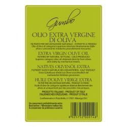 Olio extravergine di oliva Gumbo latta - Sommariva - 5l