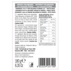 Crema Aceto Balsamico Frutti di Bosco - I Solai - 180gr