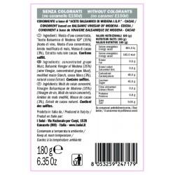 Crema Aceto Balsamico Cacao - I Solai - 180gr
