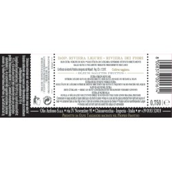Olio extravergine di oliva DOP Riviera Ligure Cultivar Taggiasca - Anfosso - 750ml