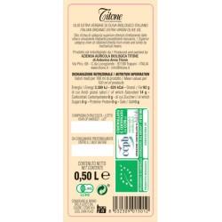 Olio extravergine di oliva Biologico Biancolilla - Titone - 500ml