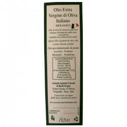 Olio extravergine di oliva Biologico - Bardi Carraia - 500ml