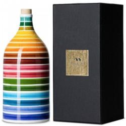 Olio extravergine di oliva Orcio ceramica Arcobaleno Magnum - Muraglia - 1.5l
