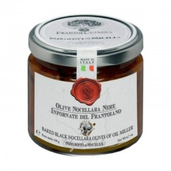 Olive Nocellara Nere Infornate - Cutrera - 190gr