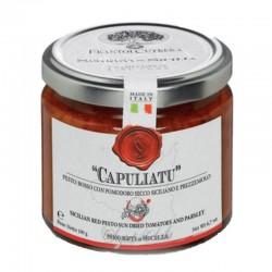 """Pesto rosso con pomodoro secco """"Capuliatu"""" - Cutrera - 190gr"""