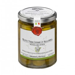 Olive Verdi in salamoia Nocellara Etnea - Cutrera - 290gr