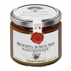 Bruschetta di Olive Nere Tonda Iblea - Cutrera - 190gr