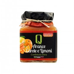 Confettura di Arance Carote e Limoni - Quattrociocchi - 350gr