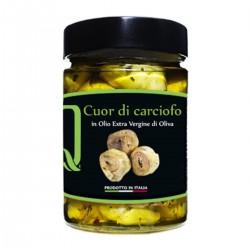 Cuor di Carciofo in olio extra vergine di oliva - Quattrociocchi - 320gr