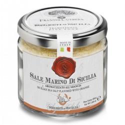 Sale Marino di Sicilia aromatizzato all'Arancia - Cutrera - 200gr