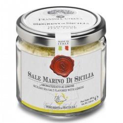Sale Marino di Sicilia aromatizzato al Limone - Cutrera - 200gr