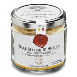 Sale Marino di Sicilia aromatizzato al Mandarino - Cutrera - 200gr