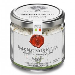 Sale Marino di Sicilia aromatizzato all'Origano - Cutrera - 200gr