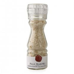 Sale Marino di Sicilia aromatizzato all'Arancia Macinino - Cutrera - 100gr