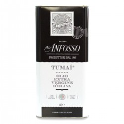 Olio extravergine di oliva 100% Italiano TUMAI latta - Anfosso - 5l