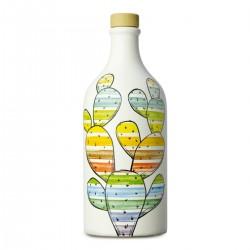 Olio extravergine di oliva Orcio ceramica Fico d'India coratina - Muraglia -...